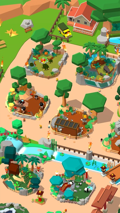 Idle Zoo Tycoon 3D screenshot 7