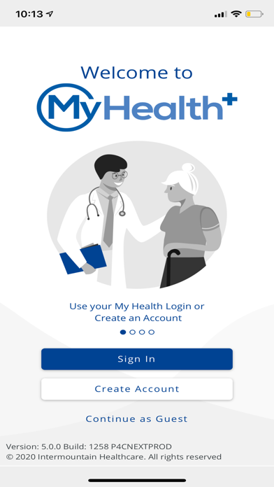 cancel My Health+ by Intermountain app subscription image 1