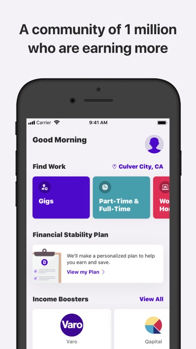Steady-Find Work. Earn Money. screenshot