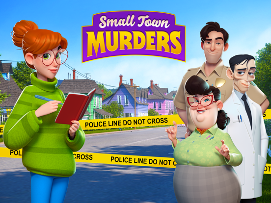 Small Town Murders: Match 3 screenshot 12