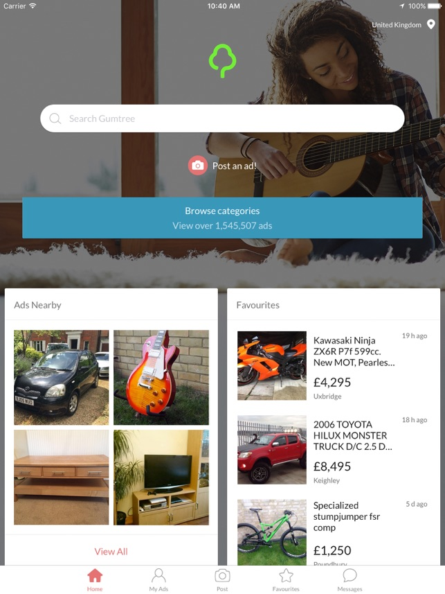 Gumtree: Find Deals Near You on the App Store