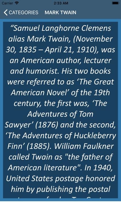 Mark Twain Wisdom screenshot-3