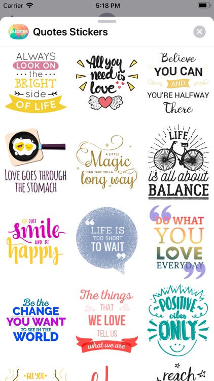 Quotes: Motivational Stickers screenshot-5