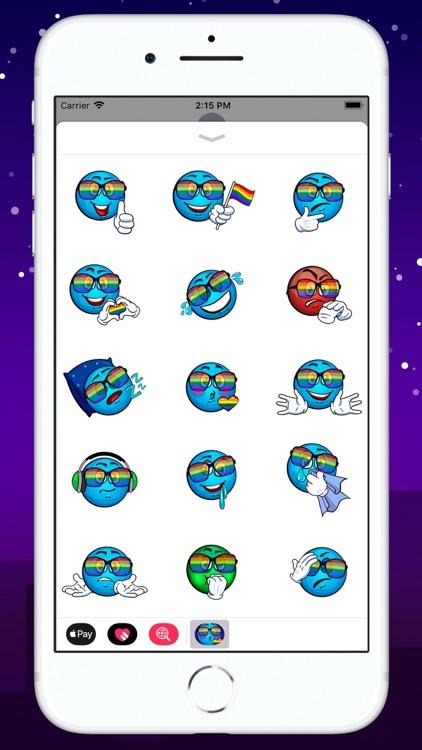 Gay Pridemoji Sticker Pack