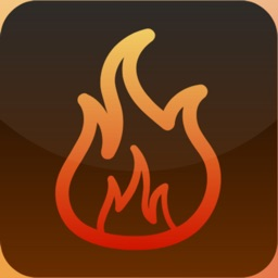 Virtual fireplace and bonfires