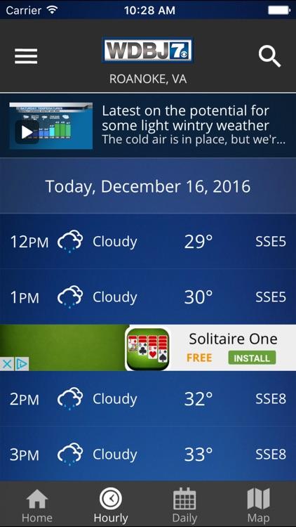 WDBJ7 Weather & Traffic screenshot-3