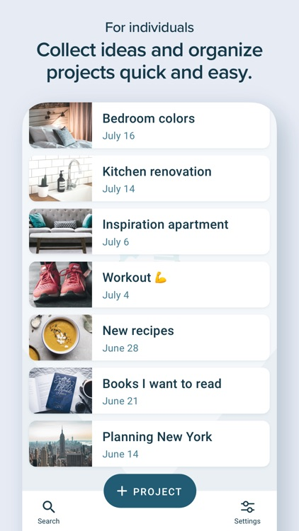 ProjectNotes - Get Organized