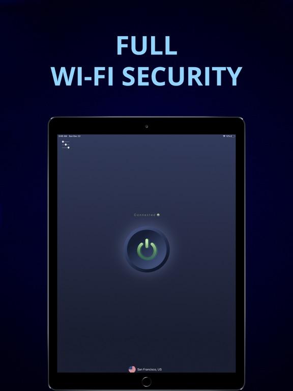 iPad Image of iVPN - Best WiFi Security