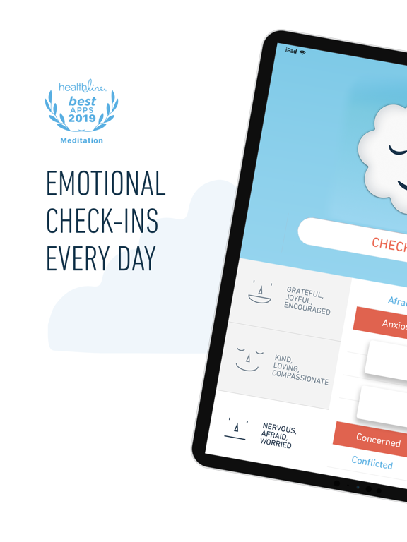 Stop, Breathe & Think: Meditation tailored to your emotions screenshot