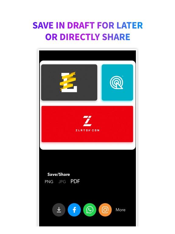 Ipad Screen Shot Logo Maker + Logo Creator 8