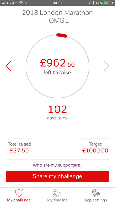 Virgin Money Giving screenshot four