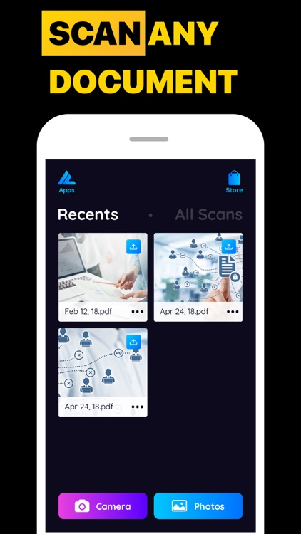 Smart Scanner Auto Camera App screenshot-3