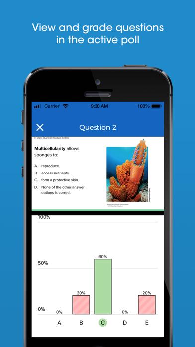 iClicker Cloud Mobile screenshot 5