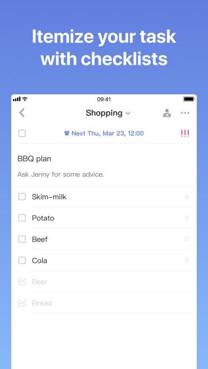 TickTick: Things & Tasks To Do screenshot-4