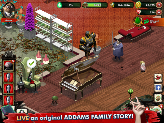 Addams Family Mystery Mansion screenshot 6
