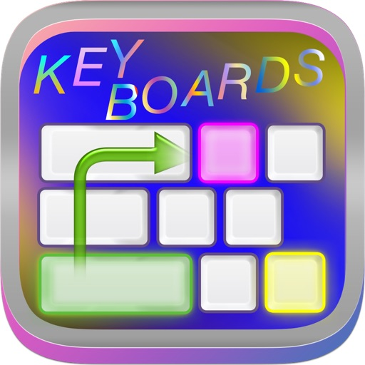 Swipe & Type Keyboards & Color Keyboards To Cool Fonts