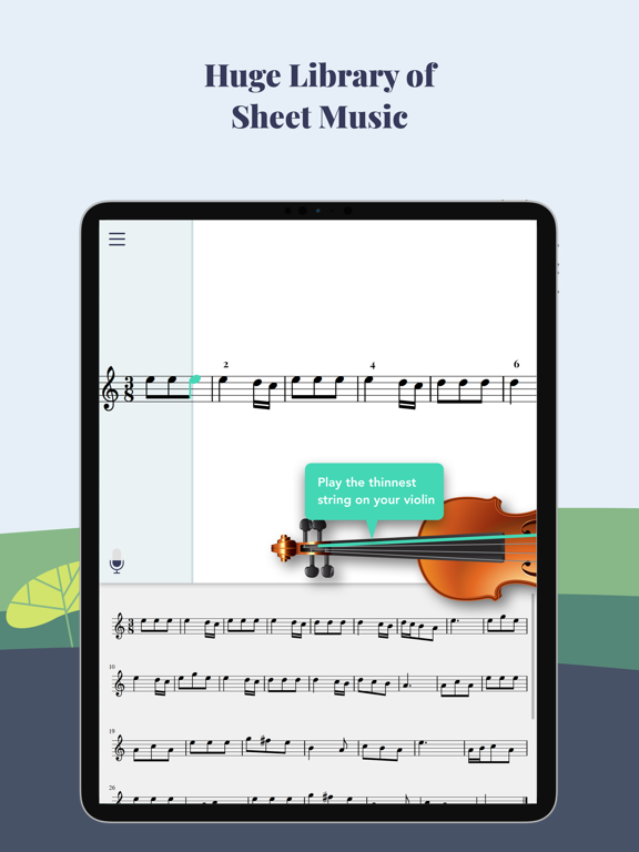 Trala: Learn Violin screenshot