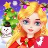 圣诞节装扮圣诞树雪人游戏