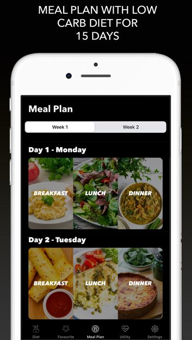 Keto-Diät - Ketogene RezepteScreenshot von 7