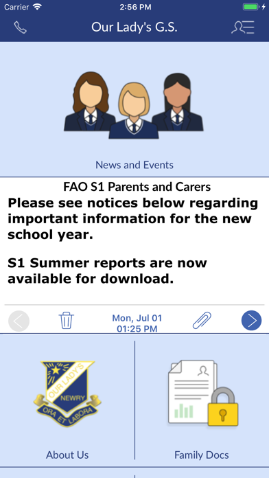 Our Lady's Grammar School screenshot two