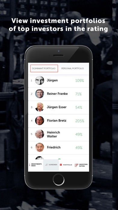 Dominant stocks Screenshots