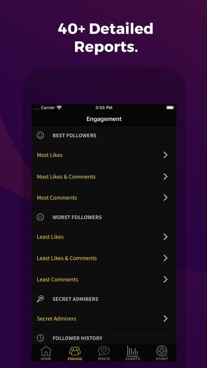 Tracker Pro: Followers Reports screenshot-1