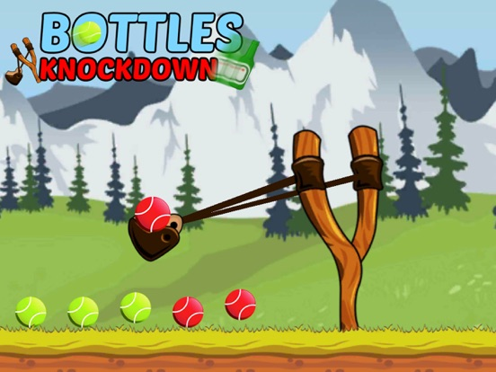 Bottle Shooting Hit Knock Down screenshot 5