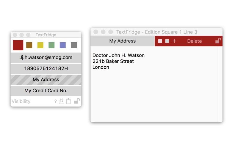 TextFridge скриншот программы 2