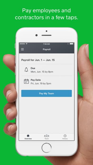 Square Payroll Screenshot