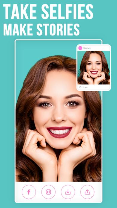 Voir – Makeup Selfie Camera Screenshot