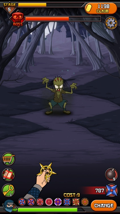 Zombies vs Ninja screenshot-1