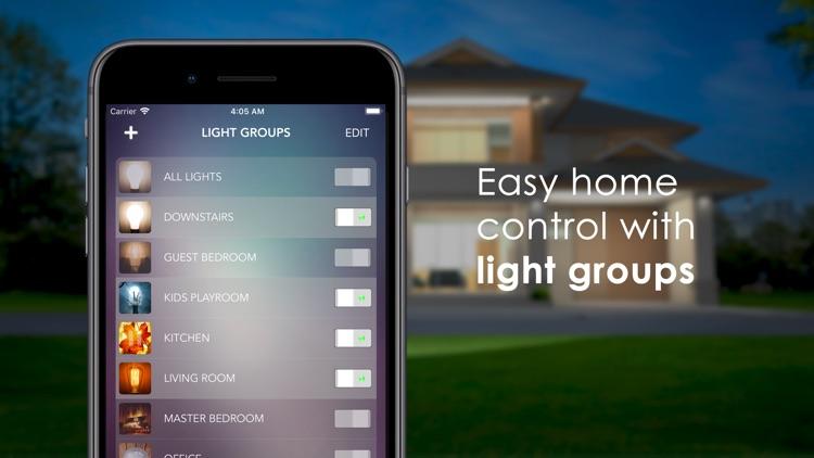 OnSwitch – Philips Hue & LIFX screenshot-6