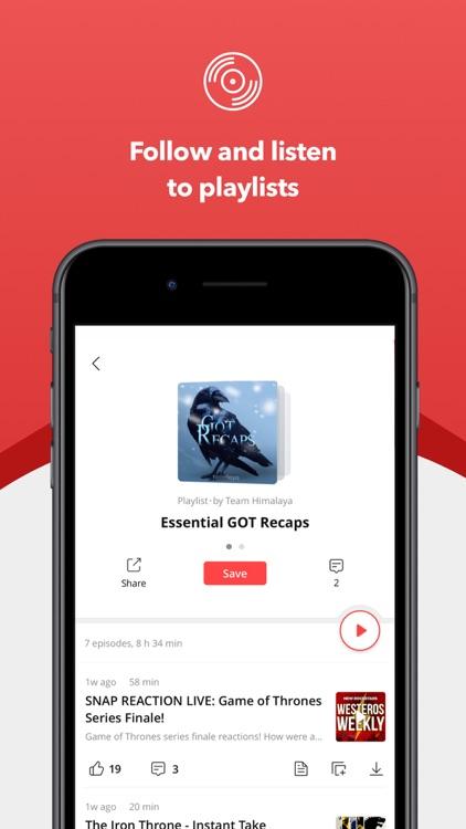 Himalaya Podcast Player screenshot-4