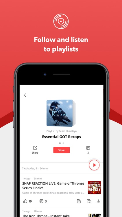 Himalaya - The Podcast Player screenshot-4