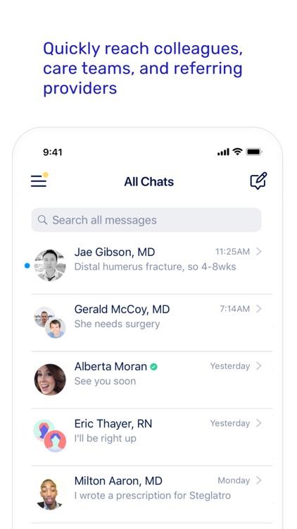 OhMD HIPAA Compliant Texting screenshot-3