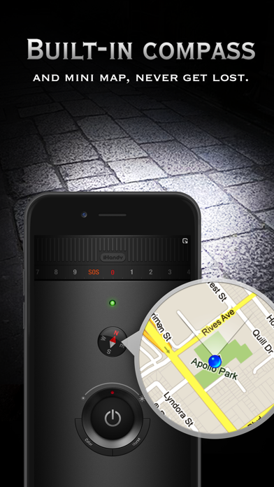 Screenshot for Flashlight Ⓞ in United States App Store