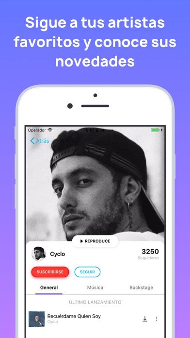 Screenshot for MonkingMe Descargar Música in Ecuador App Store