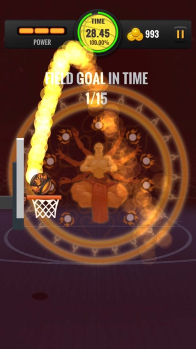 Hoop Hit - BasketBall Shot Hot Screenshot on iOS