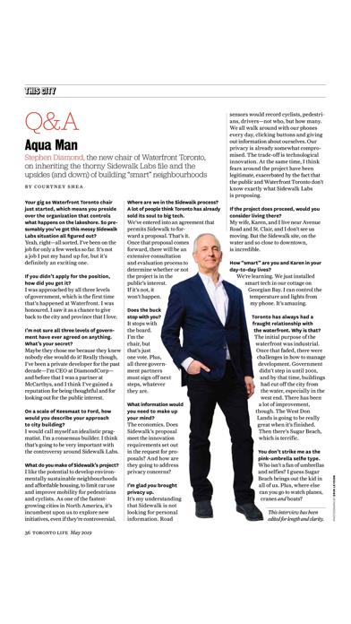 Toronto Life Magazine screenshot four