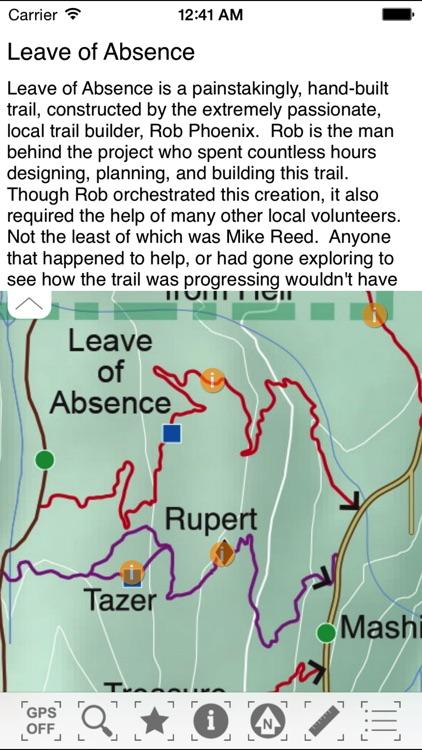 TrailMapps: Squamish screenshot-3