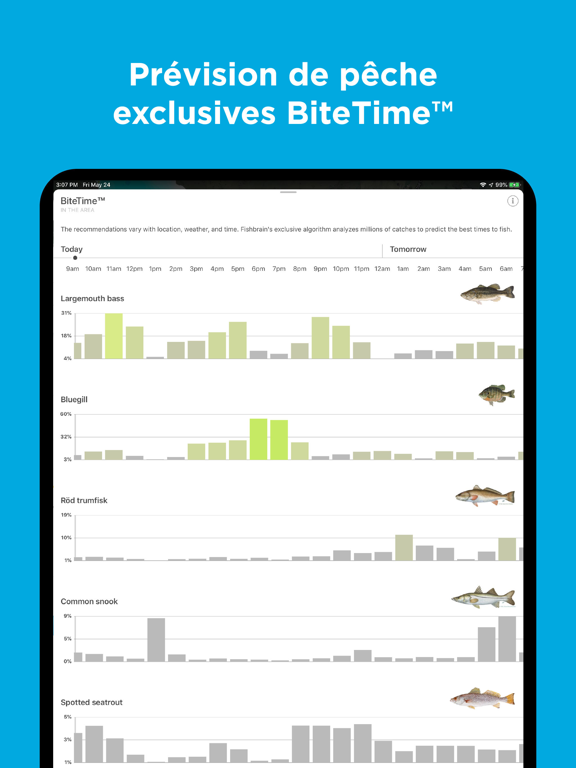Screenshot #6 pour Fishbrain - Fishing App