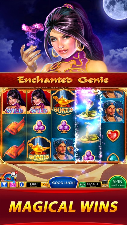 Wild Cherry Slots & Puzzles screenshot-2