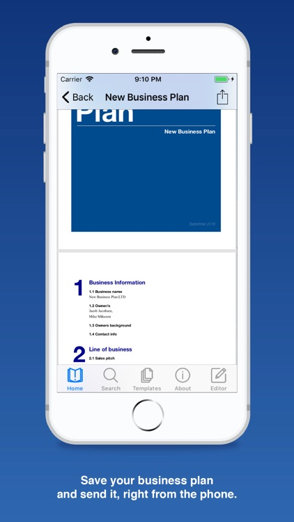 Business Plan for Startups screenshot-6