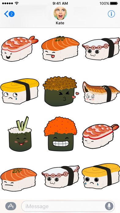 Sushi Stickers by Quidd Labs Screenshot