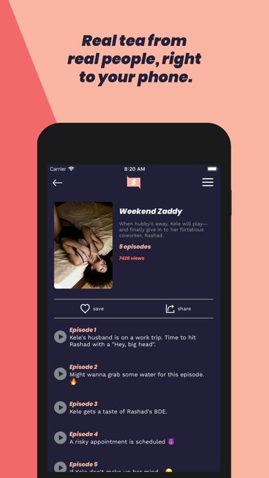 Slide Stories Screenshot
