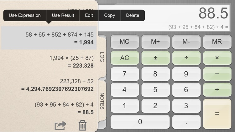 Calculator for iPad!