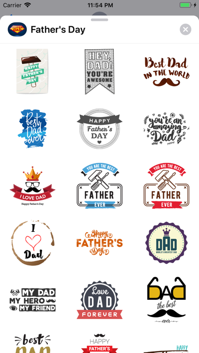 Fathers Day Greetings & Cards - 窓用