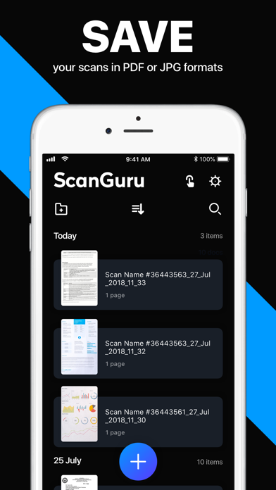 Screenshot for Scanner App: PDF Docs Scan in Indonesia App Store