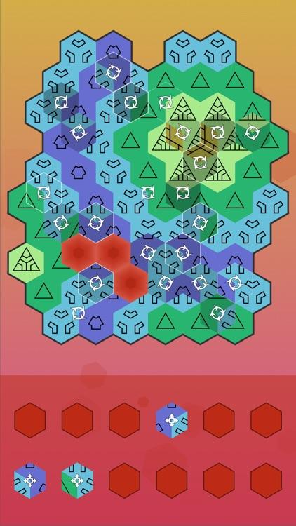 Aurora Hex - Pattern Puzzles screenshot-4