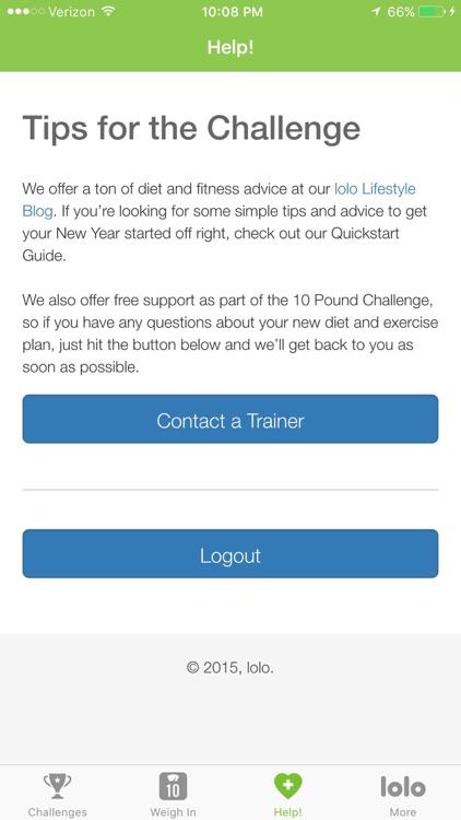 Ten Pound Challenge screenshot-3